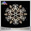 Luz da luz do floco de neve do diodo emissor de luz do frame do ferro para a decoração do Natal