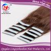 Выдвижение волос ленты Weft бразильской девственницы волос кожи людское (TSTB-A641)