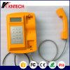 Téléphones résistants Knsp-18LCD Kntech extérieurs et de temps