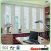 PVC blanc de Painted Airy Shutter Window dans la chambre de Study