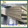 Желтое Artificial Quartz Countertop для крытого Decoration