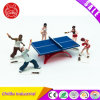 Figura de esporte de tênis de mesa de plástico Figure. Brinquedos de PVC