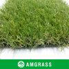 Zwarte die Kunstmatig Gras en Kunstmatig Gras met 25 Mm steunen