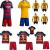 Sportswear 2016 do terno da equipe da juventude 3-14 Y do menino do miúdo da luva do Short do futebol do futebol