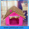 China-Qualitäts-Hundebett-Haus-Baumwollluxuxhaustier-Katze-Bett