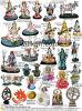 Polyresinのヒンズー教の神の彫像、インドの神、インドの女神