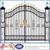 Ornamental Beautiful Economical Residential Wrought Iron Gate (dhgate-6)