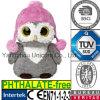 Hibou animal de chapeau de bébé de la CE EN71 avec le jouet de peluche de chapeau