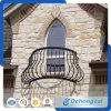 現代手すりの鋼管の柵/屋外の電流を通されたバルコニーの安全塀