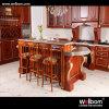 2016年のWelbomの暗い色の木製の標準食器棚