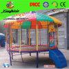 Venta caliente niños Indoor Sport Trampolín con escalera