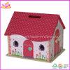 De houten Kinderen spelen het Huis van Doll (W06A036)