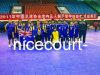 Materiaal van het Hof Futsal van Nicecourt het Draagbare voor Concurrentie van de Gebeurtenis van de Sport (Gouden Zilveren Brons Nicecourt-)