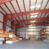 Edificios prefabricados del almacén/del taller/del garage de la estructura de acero con la grúa (LTB-082)