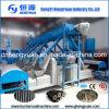 低価格の米の殻の手回し締め機の煉炭機械