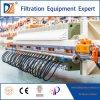 Prensa de filtro de papel de membrana de la prensa de filtro de las aguas residuales