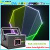 Mostra do laser da animação do RGB 400MW mini para o estágio