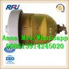 Separador do calefator de água do filtro de combustível Dahl100 (DAHL100)