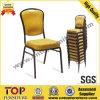 Chaise empilable en acier arrière confortable de banquet