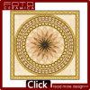 Azulejo de suelo Polished del cristal de oro caliente de la venta de Medio Oriente