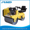 800kg Double Drum Steel Wheel Mini Vibratory Roller