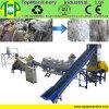 Película elevada do HDPE da produtividade que recicl a linha para sacos tecidos de lavagem do Raffia dos PP da folha da agricultura sacos de secagem com triturador molhado