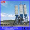 Planta de procesamiento por lotes por lotes concreta de la carga de la serie automática del sistema Hzs