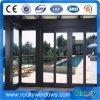 Porte coulissante lourde en aluminium d'interruption Non-Thermal chaude de vente