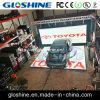 屋内屋外車のパスの強い出版物のDiscobarの使用の床LEDスクリーン