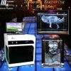 Резк сниженная цена! Гравировальный станок лазера высокочастотного подарка фотоего 2D/3D кристаллический близповерхностный (HSGP-2KC)