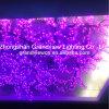 LEDの結婚式は紫色の桜のツリーブランチライトをつける