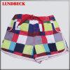 Plaid Beach Shorts für Women Wear