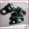 Clip galvanizado del alambre