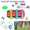 Bunte Kinder GPS-Verfolger-Uhr mit PAS-Taste (Y9)