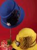 Ebene gefärbte neue Art-Wolle-Frauen-Kirche-Hüte en gros