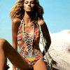 Neuer gedruckter Dame-einteiliger Bikini