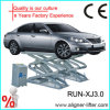 3000kg Lifting Capacity in Floow Scissor Car Lift con Ce