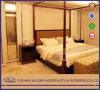 알루미늄 0307 5 별 오크 현대 힐튼 호텔 가구는 직물 침실 세트를 간단하게 한다