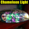 Лоснистое Chameleon Car Light Tint Film 0.3*10m