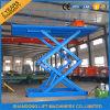Hidráulico Scissor a ponte de plataforma do elevador do carro para a venda