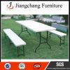 Le Tableau dinant se pliant de plastique de HDPE de meubles de jardin conçoit (JC-T02)