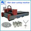 machine de découpage de laser de fibre de 500W 1000W pour le métal, acier du carbone