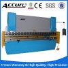 Freio hidráulico da imprensa do CNC do aço de Wc67y, máquina de dobra da placa