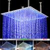 20 duim Vierkante LEIDENE van de Regenval van de Badkamers het Licht van de Douche