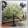 Decoração branca do casamento da árvore da flor da cereja artificial