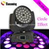 lumière principale mobile de disco du lavage DEL de 36PCS*10W RGBW