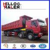 Mining를 위한 HOWO 8X4 371HP 무겁 의무 Dump Truck