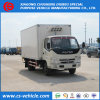 Foton 4X2 Refrigerated тележка Van 5tons Мал груза замораживателя Refrigerated