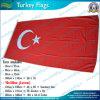160GSM 100%年のPolyester HighqualityトルコNational Flag (J-NF05F09028)