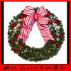 European Style Christmas Wreath Decorative Hanging LED Holiday Light